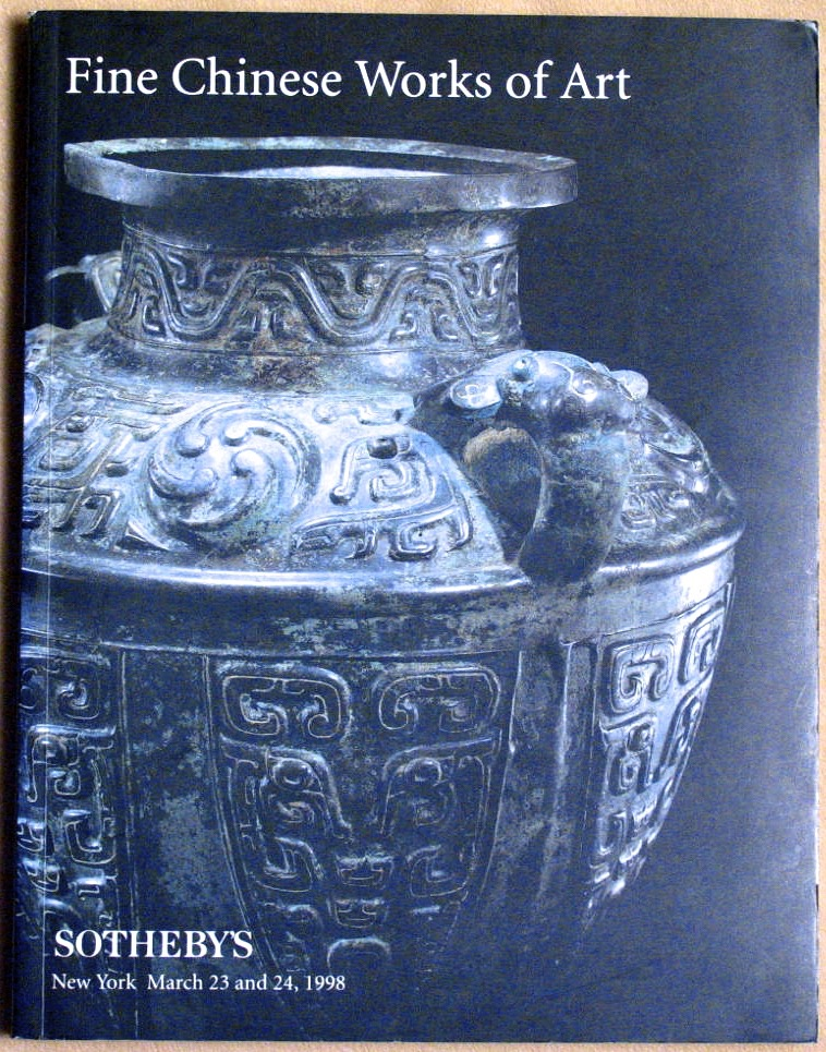 SNY19980324: Bookshop: [1998] Sotheby's Fine Chinese Works of Art