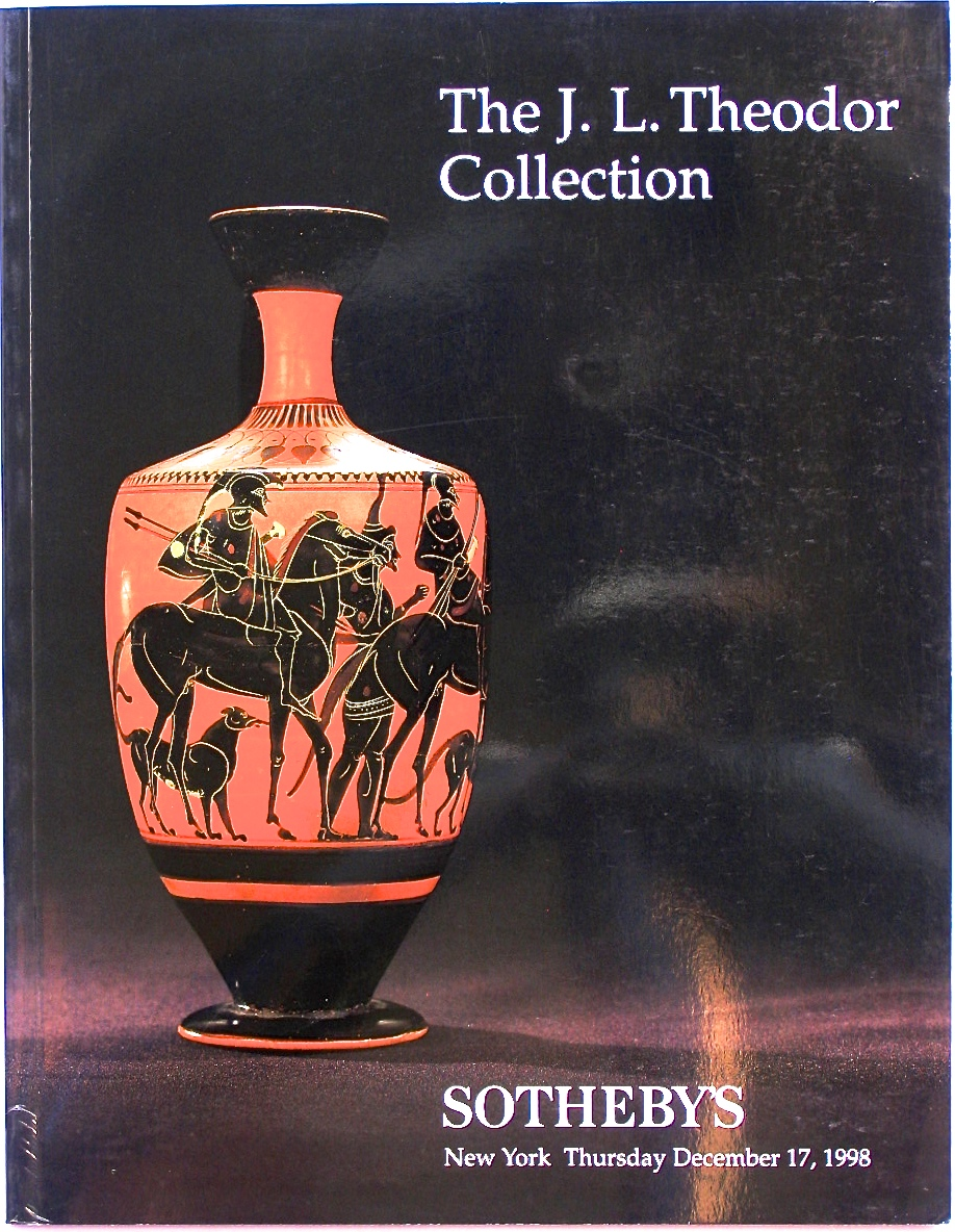 SNY19981218: Bookshop: [1998] Sotheby's The J. L. Theodor Collection