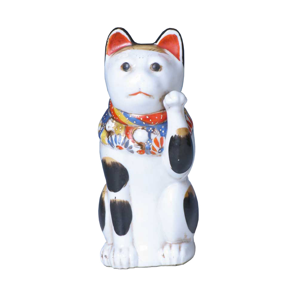 CT60005: Porcelain Maneki Neko