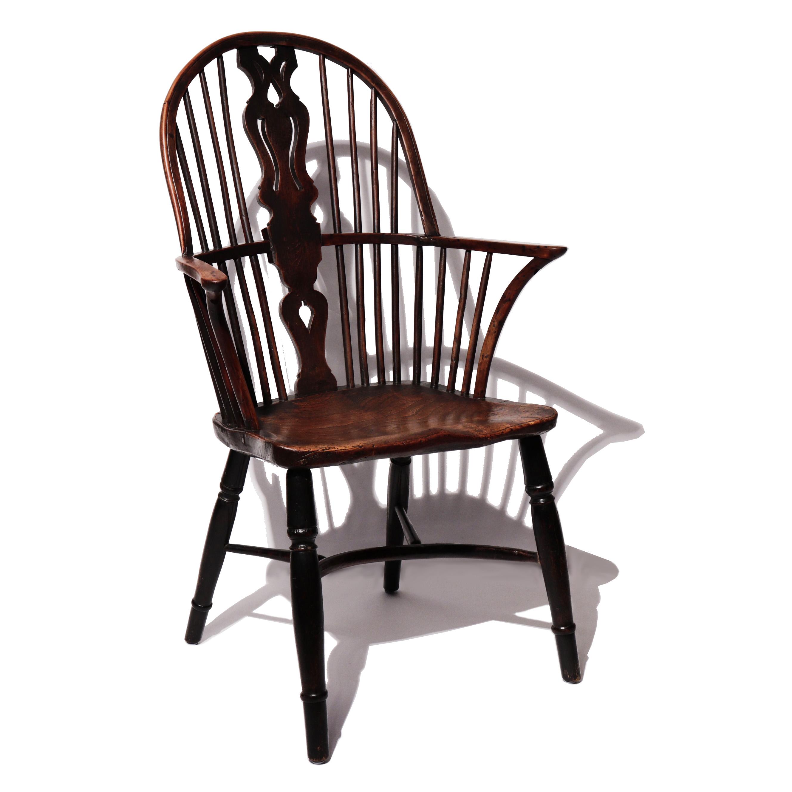 EH80003: Georgian Windsor Armchair