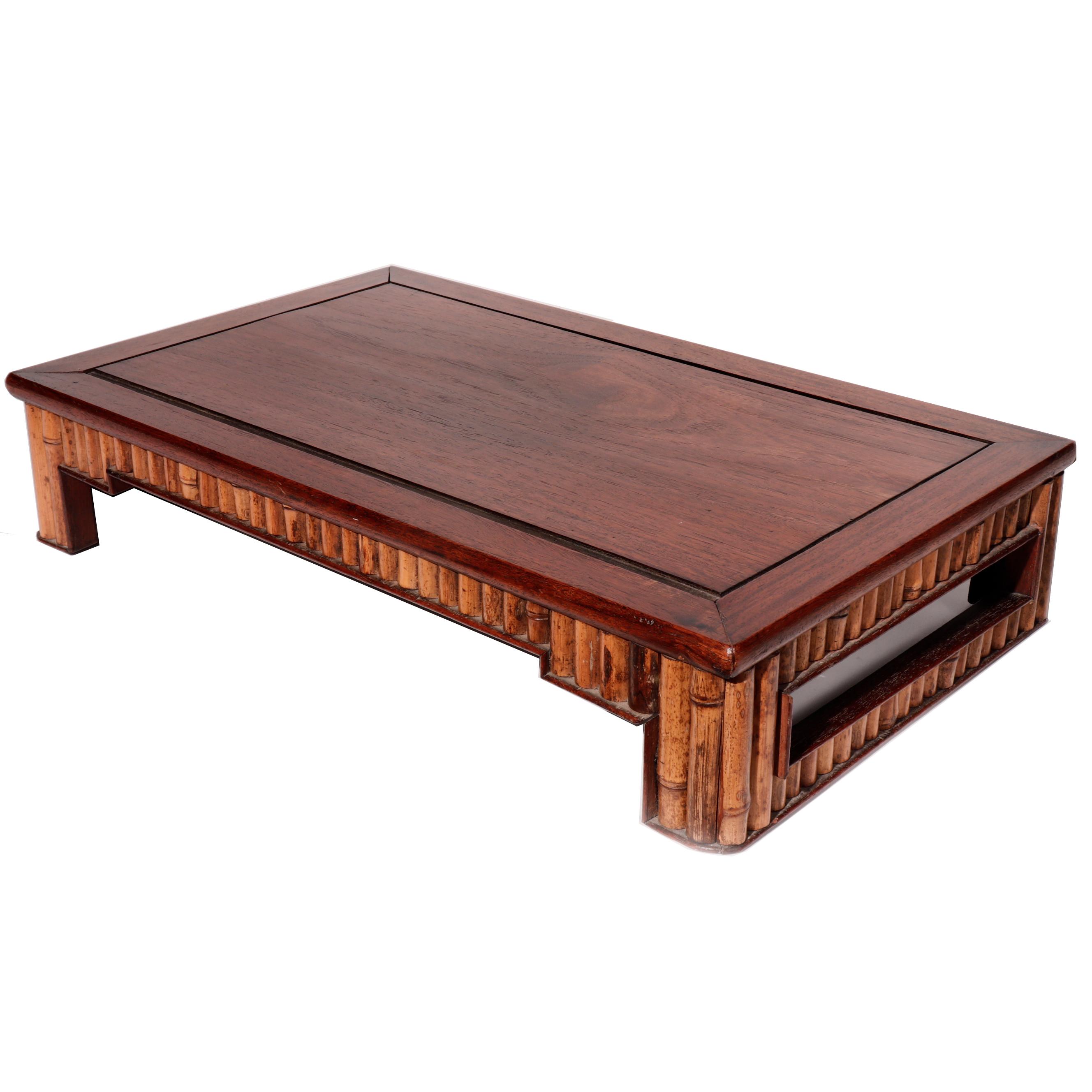NG75024: Bamboo & Wood Stand