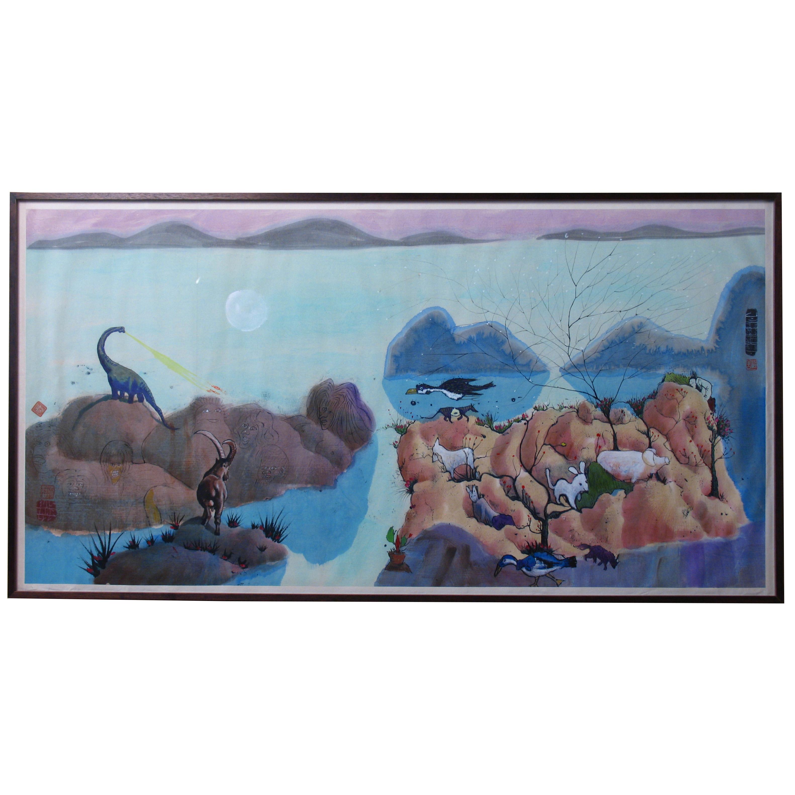 CY93306: Luis Chan Watercolour