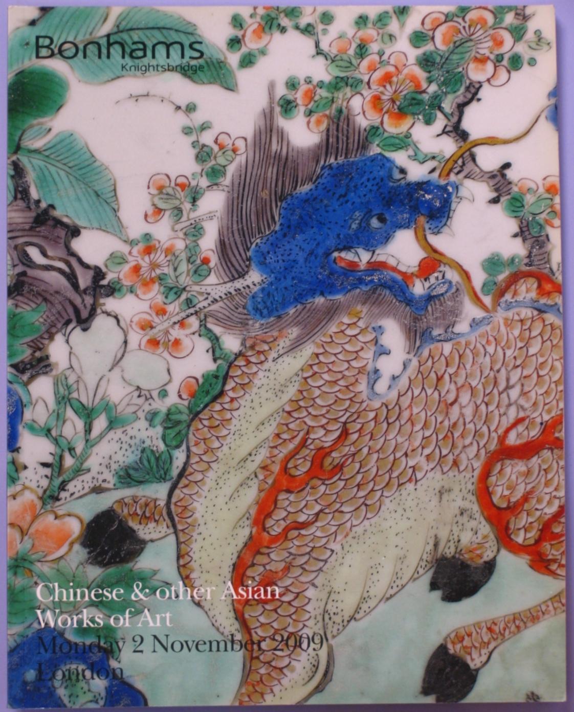 BK20091102: Bookshop: [2009] Bonhams Knightsbridge Chinese & other Asian Works of Art