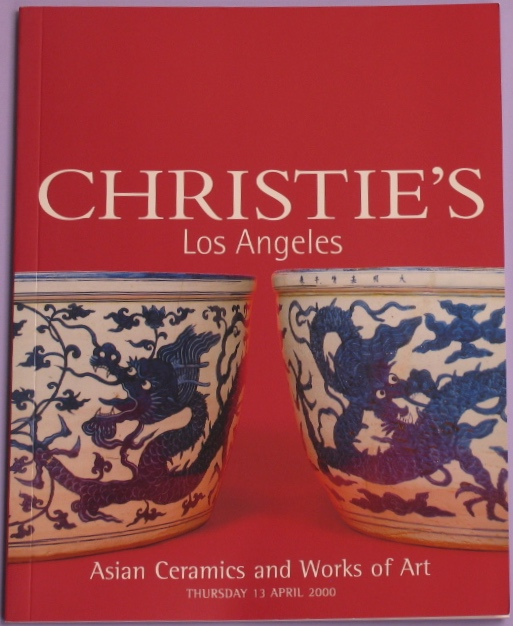 CLA20000413: Bookshop: [2000] Christie's Los Angeles Asian Ceramics and Works of Art