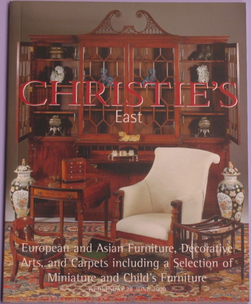 CE20000628: Bookshop: [2000] European and Asian Furniture, Decorative Arts and Carpets