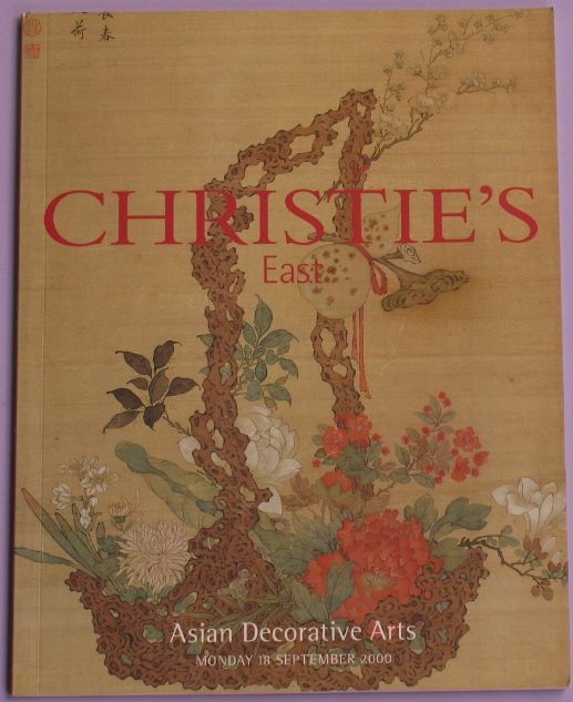 CE20000918: Bookshop: [2000] Christie's East Asian Decorative Arts