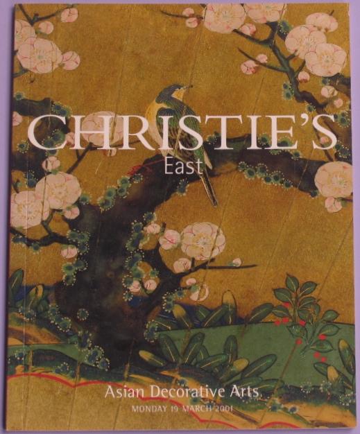 CE20010319: Bookshop: [2001] Christie's East Asian Decorative Arts