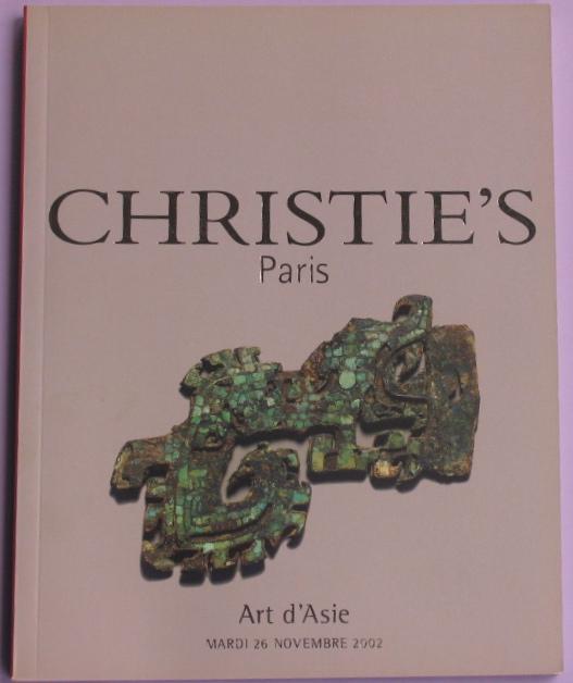CP20021126: Bookshop: [2002] Art d'Asie