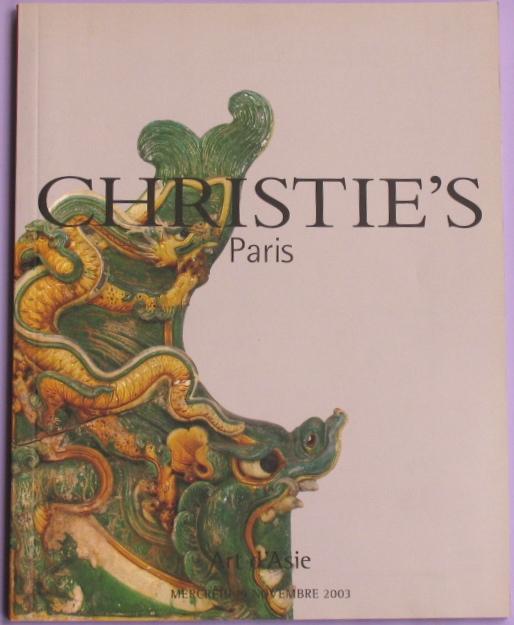 CP20031119: Bookshop: [2003] Art d'Asie
