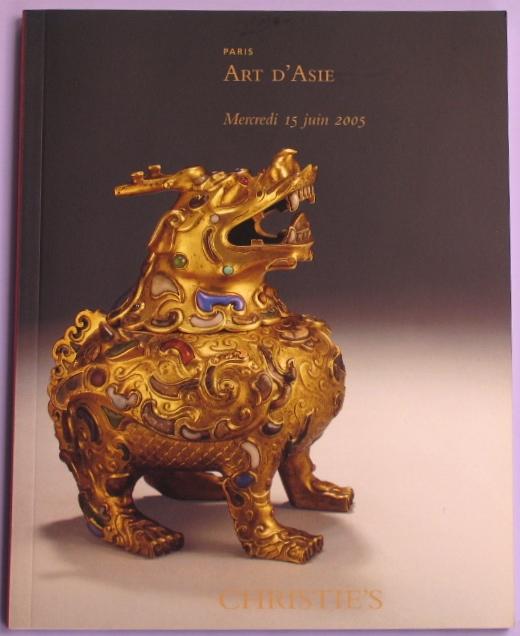CP20050615: Bookshop: [2005] Art d'Asie