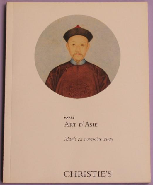 CP20051122: Bookshop: [2005] Art d'Asie