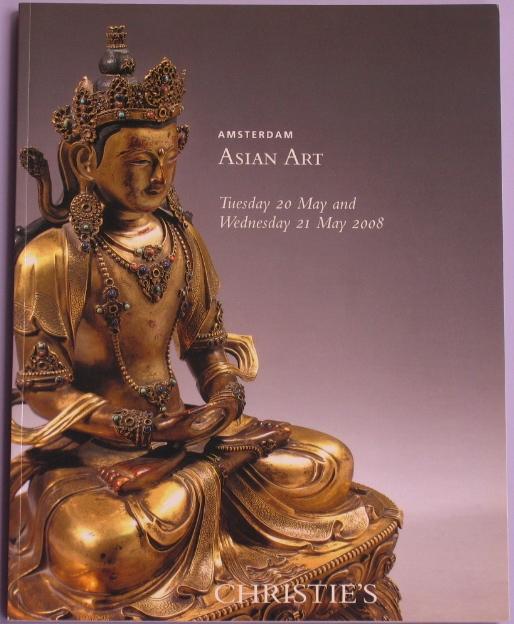 CA20080520: Bookshop: [2008] Christie's Amsterdam Asian Art