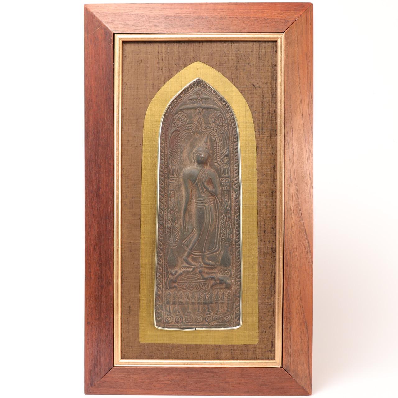 UH80067: Thai Buddhist Votive Plaque