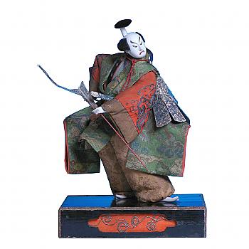 NH11013: Takeda Ningyo Kabuki Actor with Yoroi
