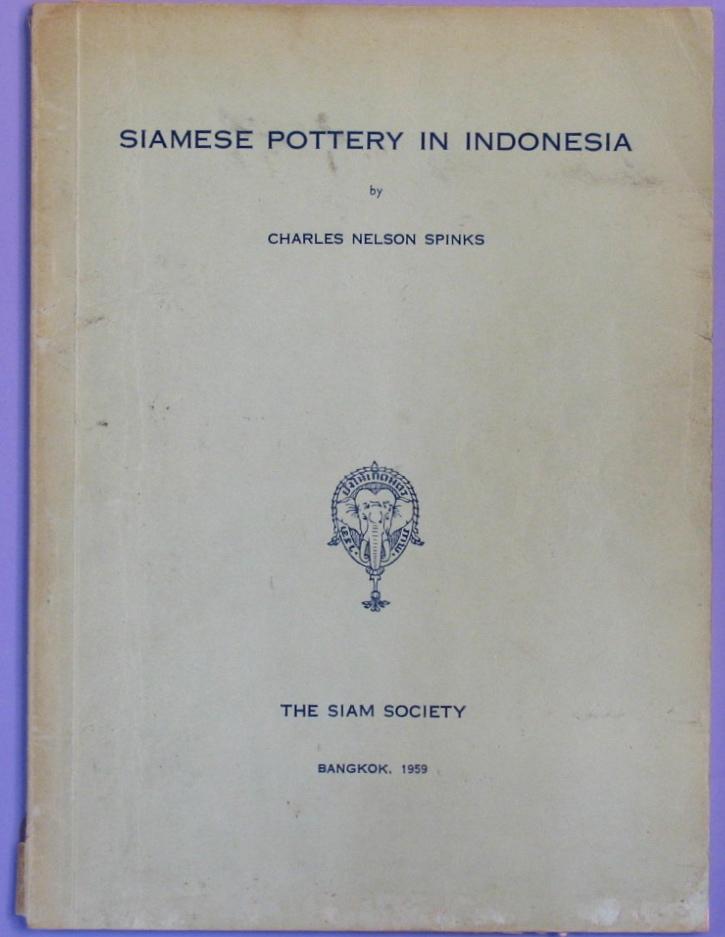 SIAMESEPOTTE: Bookshop: Siamese Pottery in Indonesia