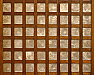 UH70007 Philippine Capis Shell Set of Doors, 19th century