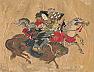 Tomoe Gozen on Horseback, Battle of Awazu