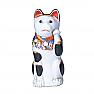 Antique Japanese porcelain Maneki neko beckoning cat