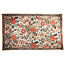 UH80011 Traditional Indian Wool Chain Stitch Decorative Area Rug, Kashmir Valley, India