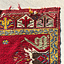 RD0021 Antique Kirsehir Yastik Rug, Central Anatolia, Turkey