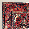 RD0031 An Antique Persian Farahan Sarouk Rug