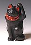 CT60004: Townsend / clay black Maneki Neko