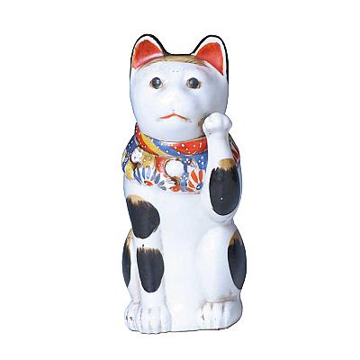 CT60005: Porcelain Maneki Neko