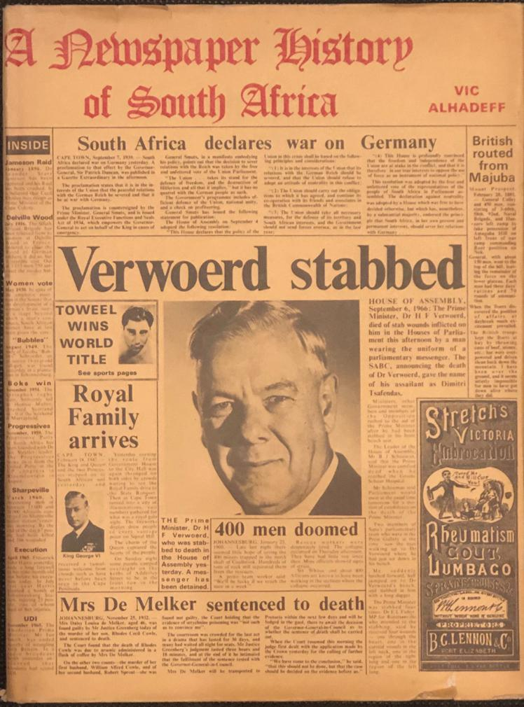 0909238200: Bookshop: A Newspaper History of South Africa