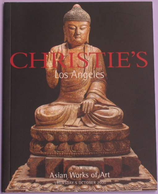 CLA20001005: Bookshop: [2000] Christie's Los Angeles Asian Works of Art