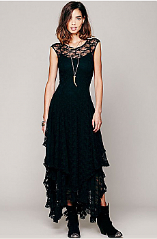 Romantic Lace Cowgirl Dress. #100210EB