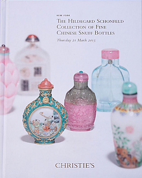 CNY20130321: Bookshop: [2013] Schonfeld Collection Chinese Snuff Bottles