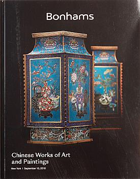 BNY20180910: Bookshop: [2018] Bonhams New York Chinese Works of Art and Paintings
