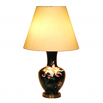 UH80005: Japanese Cloisonne Table Lamp