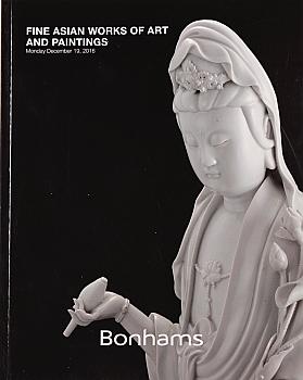 BSF20161219: Bookshop: [2016] Bonhams San Francisco Fine Asian Works of Art and Paintings