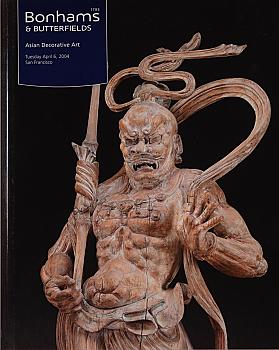 BSF20040407: Bookshop: [2004] Bonhams & Butterfields San Francisco Asian Decorative Art