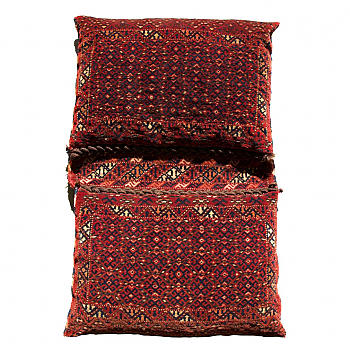 RD0039: Baluch Saddle Bag Pair as a Pillow