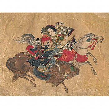 CF60007: Tomoe Gozen Painting