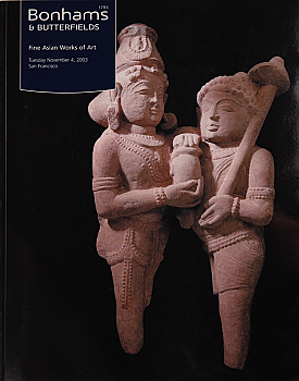 BSF20031104: Bookshop: [2003] Bonhams & Butterfields San Francisco Fine Asian Works of Art