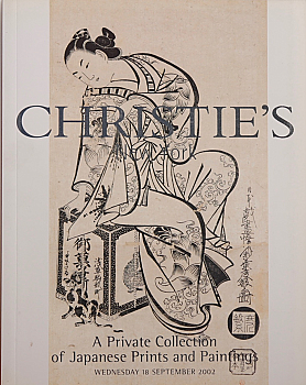 CNY20020917: Bookshop: [2002] Christie's New York A Private Collection of Japanese Prints and Paintings