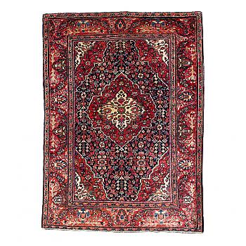 RD0031: Persian Farahan Sarouk Rug