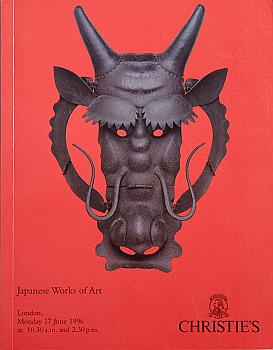CL19960617: Bookshop: [1996] Christie's London Japanese Works of Art
