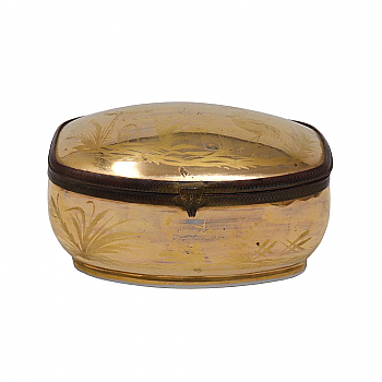 CY93205: French Chinoiserie Porcelain Box