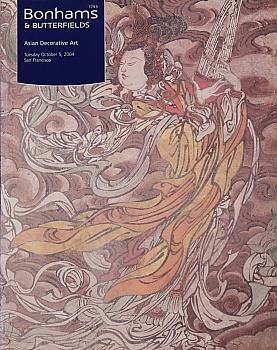 BSF20041005: Bookshop: [2004] Bonhams & Butterfields San Francisco Asian Decorative Art