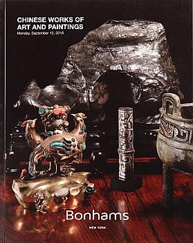 BNY20160912: Bookshop: [2016] Bonhams New York Chinese Works of Art and Paintings