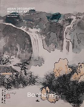 BSF20141217: Bookshop: [2014] Bonhams San Francisco Asian Decorative Works of Art