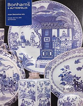 BSF20050426: Bookshop: [2005] Bonhams & Butterfields San Francisco Asian Decorative Arts