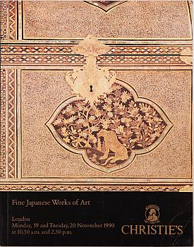 CL19901119: Bookshop: [1990] Christie's London Fine Japanese Works of Art