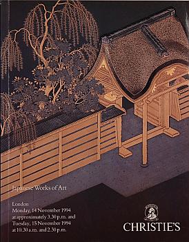 CL19941115: Bookshop: [1994] Christie's London Japanese Works of Art
