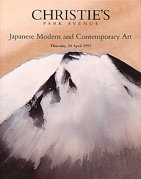 CNY19970423: Bookshop: [1997] Christie's New York Japanese Modern and Contemporary Art