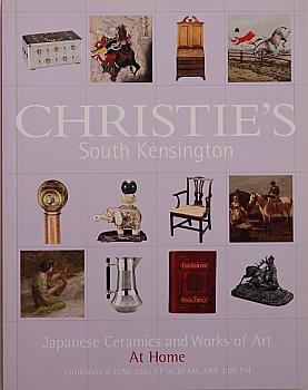 CSK20030605: Bookshop: [2003] Christie's South Kensington Japanese Ceramics and Works of Art at Home